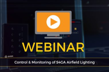 S4GA Webinar Control and Monitoring of Airfield Lighting_news