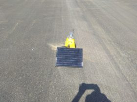 S4GA Solar runway light