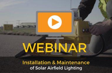 S4GA webinar Installation and maintenance of solar airfield lighting