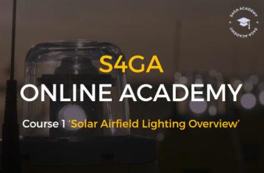 S4GA Online Academy_Solar Airfield Lighting