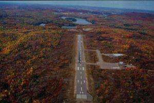 Elliot Lake Airport Canada