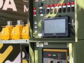 AGL Control System in a Trailer - S4GA Military