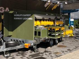 S4GA Airfield Lighting Trailer for Bundeswehr