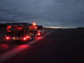 S4GA Military AFL Trailer illuminated