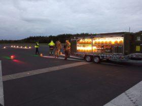 S4GA Military Airfield Lighting Trailer