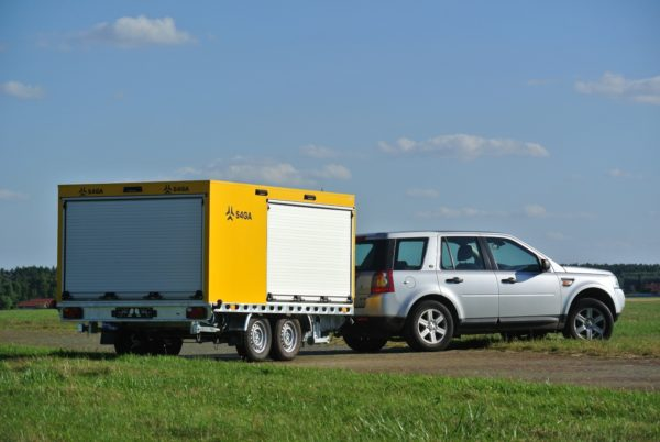 S4GA Portable airfield lighting trailer for civil
