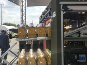 S4GA Portable airfield lights in a Trailer
