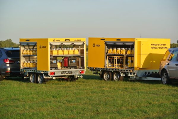 S4GA airfield lighting trailers for airports
