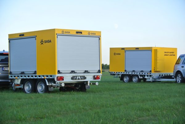 S4GA civil trailers for airports